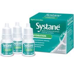 Systane® HYDRATION Benetzungstropfen für die Augen 3x10ml