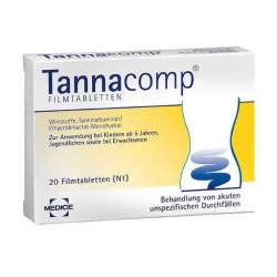 Tannacomp® 500 mg/50 mg 20 Filmtbl.