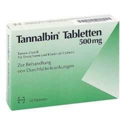 Tannalbin® Tabletten 500 mg 20 Tabletten