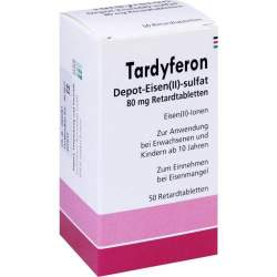 Tardyferon Eurim 50 Retardtbl.