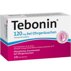 Tebonin® 120 mg bei Ohrgeräuschen 120 Filmtbl.