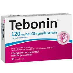 Tebonin® 120 mg bei Ohrgeräuschen 30 Filmtbl.