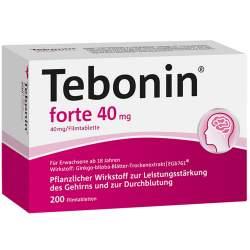 Tebonin® forte 40mg 200 Filmtbl.