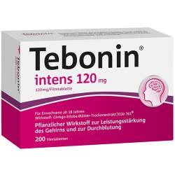 Tebonin® intens 120mg 200 Filmtbl.
