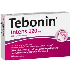 Tebonin® intens 120mg 30 Filmtbl.