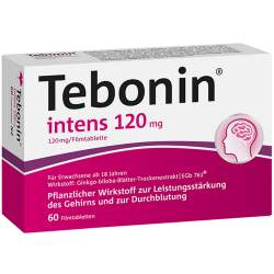 Tebonin® intens 120mg 60 Filmtbl.