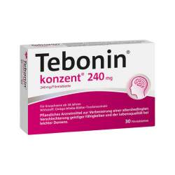 Tebonin® konzent® 240mg 30 Filmtbl.