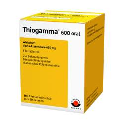 Thiogamma® 600 oral 100 Filmtbl.