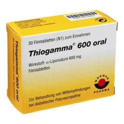 Thiogamma® 600 oral 30 Filmtbl.