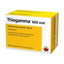 Thiogamma® 600 oral 60 Filmtbl.