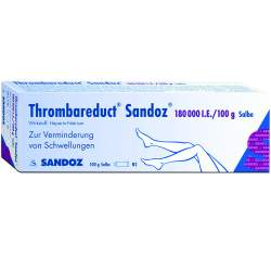 Thrombareduct® Sandoz® 180.000 I.E. 100g Salbe