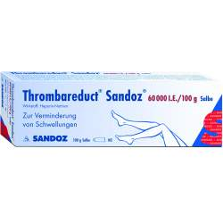 Thrombareduct® Sandoz® 60.000 I.E. 100g Salbe