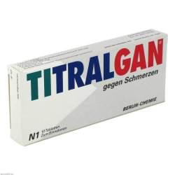 TITRALGAN® gegen Schmerzen, 250 mg/200 mg/50 mg, 10 Tabletten