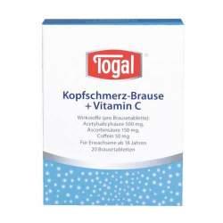 Togal® Kopfschmerz-Brause + Vitamin C, 20 Brausetabletten