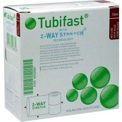 Tubifast® 2-WAY STRETCH® 1 Verband, rot 3,5 cm 10 Meter