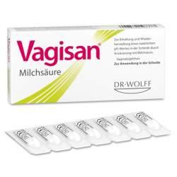 Vagisan® Milchsäure 14 Vaginalzäpf.