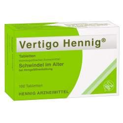 Vertigo Hennig® 100 Tbl.