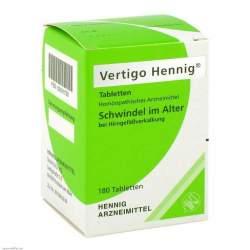 Vertigo Hennig® 180 Tabletten