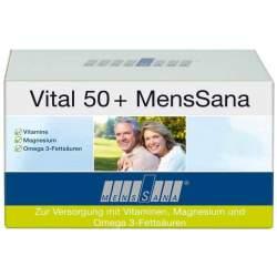 Vital 50 + MensSana® 60 Kapseln