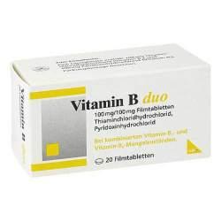 Vitamin B duo 20 Filmtbl.