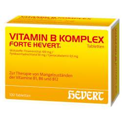 Vitamin B-Komplex forte Hevert 100 Tabletten