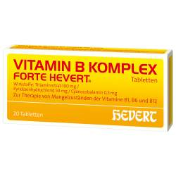 Vitamin B-Komplex forte Hevert 20 Tabletten