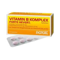 Vitamin B-Komplex forte Hevert 50 Tabletten
