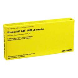 Vitamin B12 AAA® 1000µg Amp. 10x1 ml