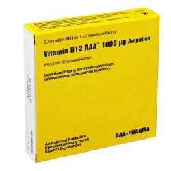 Vitamin B12 AAA® 1000µg Amp. 5x1ml