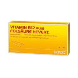 Vitamin B12-Hevert plus Folsäure 2x10 Amp.