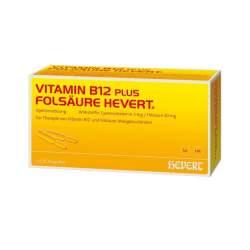 Vitamin B12-Hevert plus Folsäure 2x20 Amp.