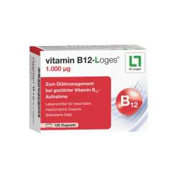 vitamin B12-Loges® 1.000 µg 120 Kaps.