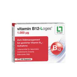 vitamin B12-Loges® 1.000 µg 60 Kaps.
