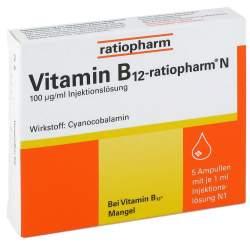 Vitamin B12-ratiopharm® N 5 Amp.