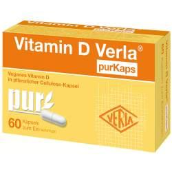 Vitamin D Verla® purKaps 60 Kaps.