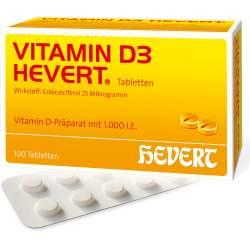 Vitamin D3-Hevert 100 Tbl.