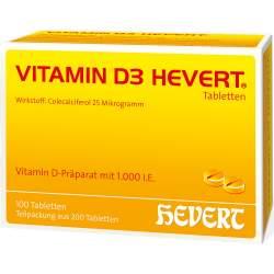 Vitamin D3-Hevert 200 Tbl.