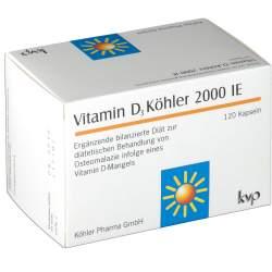Vitamin D3 Köhler 2000 IE, 120 Kapseln