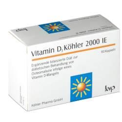 Vitamin D3 Köhler 2000 IE, 60 Kapseln