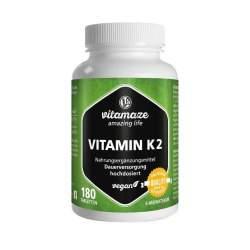 Vitamin K2 200 µg hochdosiert 180 vegane Tabletten