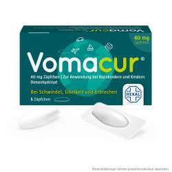 Vomacur® 40mg 5 Zäpfchen