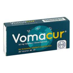 Vomacur® 50mg 20 Tbl.