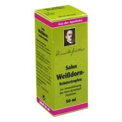 Weißdorn-Kräutertropfen Salus 50 ml