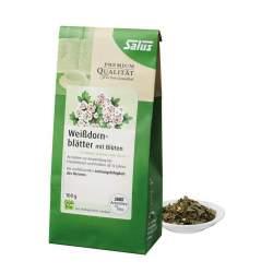 Weissdornblätter mit Blüten Arzneitee bio Salus 100 g