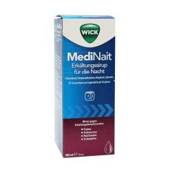 WICK MediNait Erkältungssirup für die Nacht 1 Flasche 180 ml