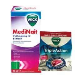 WICK MediNait Erkältungssirup für die Nacht 1 Flasche 90ml