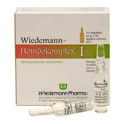 Wiedemann Homöokomplex I 10x2ml Amp.