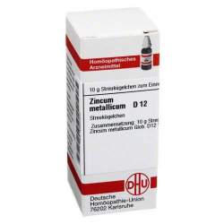 Zincum metallicum D12 DHU 10g Glob.