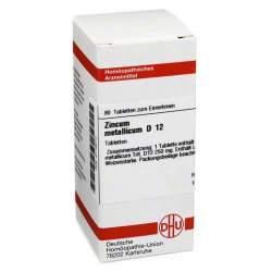Zincum metallicum D12 DHU 80 Tbl.