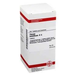 Zincum metallicum D6 DHU 200 Tbl.
